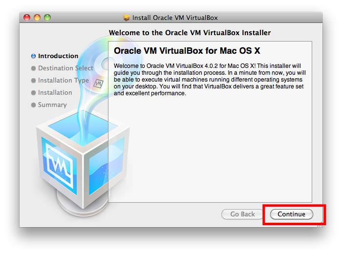 VirtualBox Tutorial for OS X