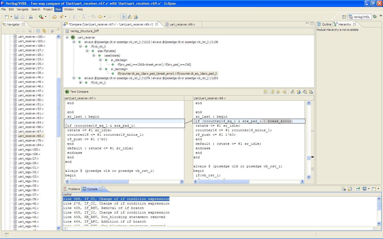 Vdiff - A Program Differencing Algorithm for Verilog HDL
