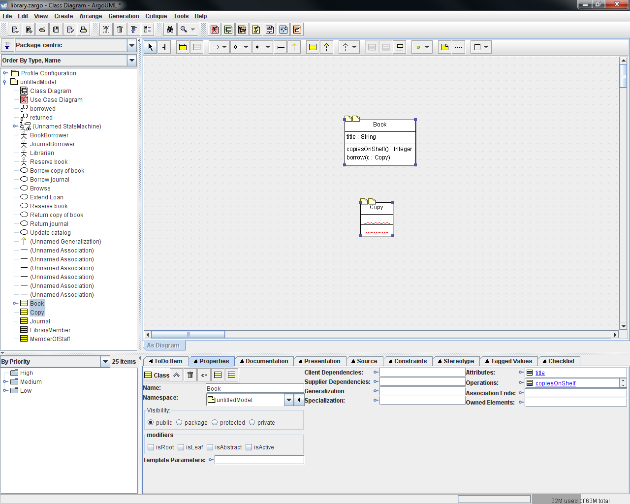 Uml a sample class diagram using a class with attributes and properties is shown below ccuart Image collections